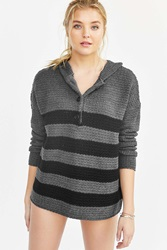 Bdg Rugby Henley Sweater Black Multi