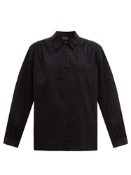 A.P.C. Selma Cotton Top Black