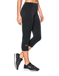 Under Armour Heat Gear Anti Microbial Capri Pants Black