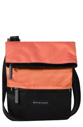 Sherpani Small Pica Crossbody Bag Coral Ember