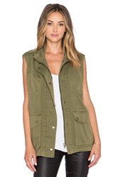 Current Elliott The Leisure Vest Green