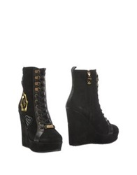 Galliano Ankle Boots Black