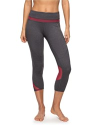 Roxy Hanakka Capri Yoga Leggings Grey