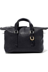 Rick Owens Woman Baby Pebbled Leather Tote Black