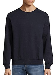 Eleven Paris Bromby Speckled Pullover Mottled Navy