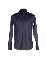 Bogosse Shirts Shirts Men Dark Blue