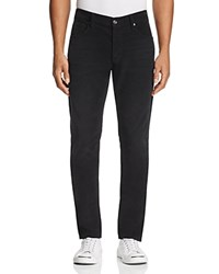 7 For All Mankind Adrien Slim Fit Corduroy Pants In Onyx