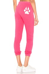 Wildfox Couture Paws Off Knox Pant Pink