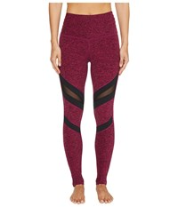Beyond Yoga Slant Get Enough High Waisted Leggings Black Plumberry Women's Casual Pants Burgundy
