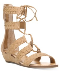 Carlos By Carlos Santana Kamilla Lace Up Gladiator Sandals Women's Shoes Brulee