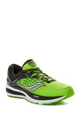 Saucony Triumph Iso 2 Running Shoe Green