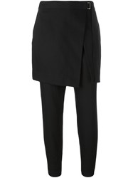 Dkny Apron Trousers Black