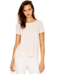 Rachel Rachel Roy Short Sleeve Split Back Blouse