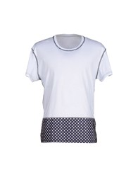Yes London Topwear T Shirts Men White
