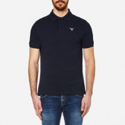 Barbour Men's Sports Polo Shirt New Navy Blue