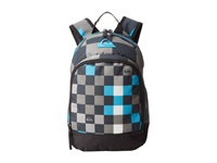 Quiksilver Chompine Backpack Checks Yardage Big Size Gunsmoke Backpack Bags Gray