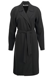Noisy May Nmtrevor Trenchcoat Black