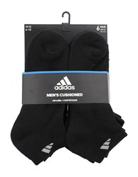 Adidas Six Pack Low Cut Ankle Socks Black