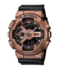 G Shock Baby G Black And Gold Stainless Steel And Resin Strap Digital Watch