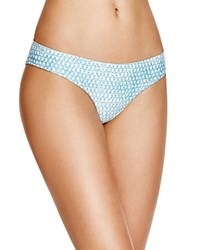 L Space Sandal Skin Sandy Bikini Bottom Ocean Denim