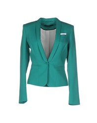 Set Suits And Jackets Blazers Women Green