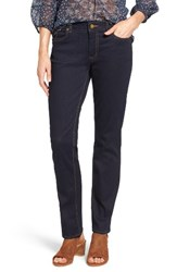 Vince Camuto Women's Two By Stretch Straight Leg Jeans Midnight