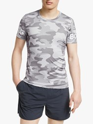 Bjorn Borg La Short Sleeve Training Top Cloud Grey