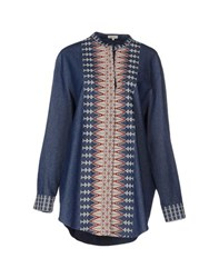 Manoush Denim Denim Shirts Women