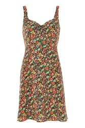 Topshop Ditsy Floral Print Sundress Multi