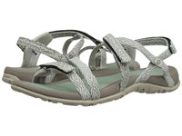 Hi Tec Santorini Strap Jadeite Warm Grey Women's Shoes White