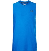 Under Armour Supervent Mesh Trimmed Jersey Tank Top Blue