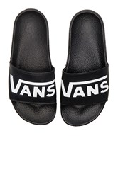 Vans Slide On Black