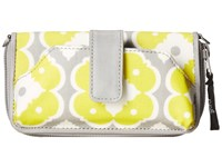 Petunia Pickle Bottom Glazed Whereabouts Wallet Afternoon In Arezzo Cross Body Handbags Yellow
