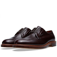 Alden Plain Toe Blucher Burgundy Cordovan Antique Welt