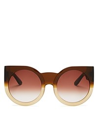 Wildfox Couture Granny Sunglasses 57Mm Sundown Smoke Gradient