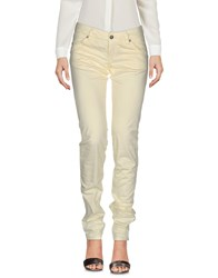 Re Hash Casual Pants Light Yellow