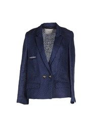 Tela Suits And Jackets Blazers Women Dark Blue