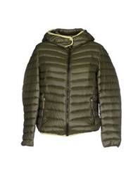 Massimo Rebecchi Down Jackets Green