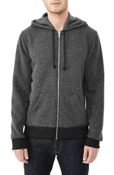 Alternative Apparel Men's Alternative 'Embassy' Full Zip Fleece Hoodie