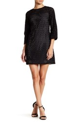 Erin Fetherston Pemberely 3 4 Length Sleeve Dress Black