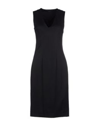 Tonello Knee Length Dresses Black