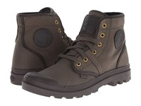 Palladium Pallabrouse Tw Army Green After Dark Men's Boots Brown