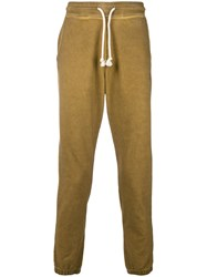 Vivienne Westwood Anglomania Drawstring Track Pants Yellow And Orange