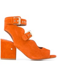 Laurence Dacade Noe Cut Out Boots Yellow Orange