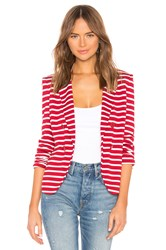 Bailey 44 De Vivre Venice Stripe Jacket Red
