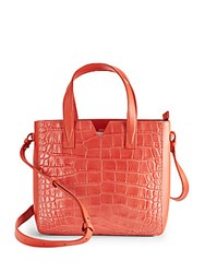 Vince Quilted Leather Crossbody Bag Sienna