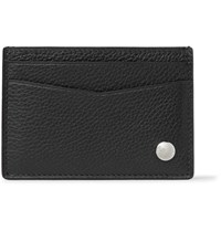 Dunhill Boston Full Grain Leather Cardholder Black