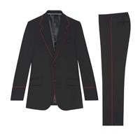 Gucci Heritage Tuxedo With Piping Black