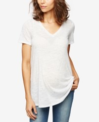 A Pea In The Pod Maternity V Neck T Shirt Antique Blush