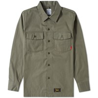 Wtaps Officer Shirt Green